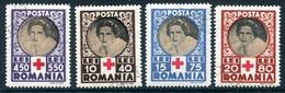 ROMANIA 1945 Red Cross Used. Michel 827-30 - Usado