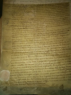 Parchemin Dijon 1772 - Manoscritti