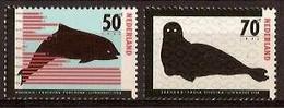 Nederland 1985 NVPH Nr 1338/1339 Postfris/MNH Bedreigde Dieren, Animals, Animaux, Bruinvis, Zeehond, Seal - Ungebraucht