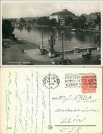 Postkaart Amsterdam Amsterdam Oldtimer Brücke über Die Amsel 1938 - Amsterdam