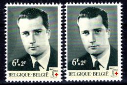 1268** V3 Ombre à Gauche Et Point En-dessous De L'œil Droit - Errors (Catalogue Luppi)