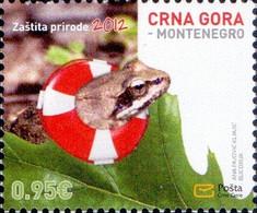 Montenegro - Frog, Stamp, MINT, 2012 - Frösche