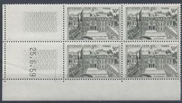 PALAIS ELYSEE N° 1192 - Bloc De 4 COIN DATE - NEUF SANS CHARNIERE   25-6-59 - 1950-1959