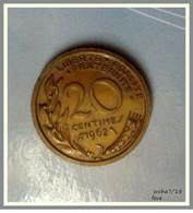 Pièce Scolaire De 20 Centimes Marianne 1962 - Plastique - Errores Y Curiosidades