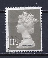 Grande Bretagne - Great Britain - Großbritannien 1980-81 Y&T N°966 - Michel N°862 (o) - 11,5p Reine Elisabeth II - 1 Bfc - Usati