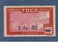 TOGO               N° YVERT  :   229    NEUF SANS GOMME        ( S G     2 / 13 ) - Nuevos