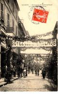 58-NEVERS- CONCOURS DE GYMNASTIQUE-LA RUE DU COMMERCE-ANIMEE - Nevers