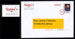 France, 2020, CANADA, ANGLAIS, Lettre Du Père-noël, Noël, Santa Claus Letter, Christmas, Montgolfière, Hot Air Balloon, - Listos A Ser Enviados: Otros (1995-...)