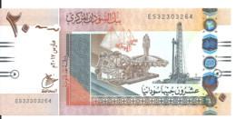 SOUDAN 20 POUNDS 2017 UNC P 74 D - Sudan