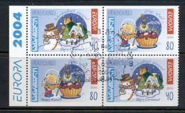 Georgia 2004 Europa Booklet Pane CTO - Georgia