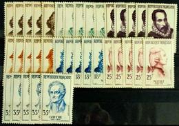 N° 1140/1141 X5  Neuf ** Gomme D'Origine  TTB - Unused Stamps