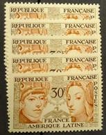 N° 1060 X5  Neuf ** Gomme D'Origine  TTB - Unused Stamps