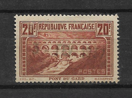 FRANCE  N° 262   OBLITERE - Oblitérés