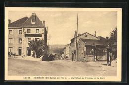 CPA Duniéres, Carrefour De L'Avenue De La Gare - Non Classificati