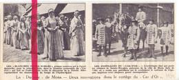 Orig. Knipsel Coupure Tijdschrift Magazine - Mons - La Ducasse , Car D'Or - 1934 - Sin Clasificación