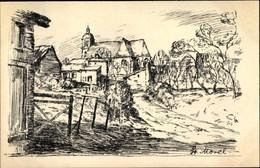 Artiste CPA Egler, Willi, Saint Morel Ardennes, Champagne, I WK, Zweite Folge No. 9 - Otros Municipios