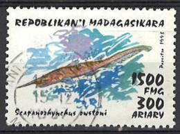 Madagaskar 1993. Mi.Nr. 1533, Used O - Madagascar (1960-...)
