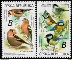 2020 : Série 2 T Les Oiseaux Chanteurs Autour De Nous : Pinson Mésange Chardonneret Gros-bec Song Birds Tits And Finches - Ungebraucht