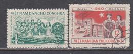 Vietnam Nord 1960 - Census, Mi-Nr. 120/21, Used - Vietnam