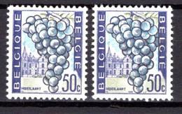 1353** CV11 Couleurs Du Fond Fortement Décalé Vers Le Bas - Abarten (Katalog Luppi)