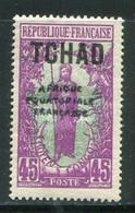 TCHAD- Y&T N°30- Neuf Avec Charnière * - Nuovi