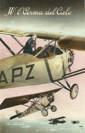 Cartolina Militare W L'Arma Del Cielo Non Viaggiata Con Dedica A Matita 1948 (91) Come Da Foto  13.8 X 8,8 Cm - Materiaal