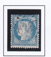 GC 6217 MESCHERS ( Dept 16 Charente  Inférieure) S / N° 60 Indice Baudot S / L : 19 Soit 420€ - 1849-1876: Klassik