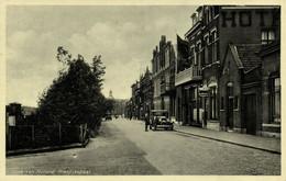 Nederland, HOEK VAN HOLLAND, Rietdijkstraat, Auto (1930s) Ansichtkaart - Hoek Van Holland