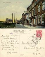 Nederland, HOEK VAN HOLLAND, Nieuw Gedeelte, Café (1908) Ansichtkaart - Hoek Van Holland