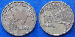 AZERBAIJAN - 10 Qapik ND (2006) KM# 42 - Edelweiss Coins - Azerbaïjan