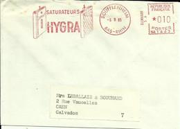 Lettre  EMA Secap Na Saturateurs Hygra Sanitaire Chauffage Santé Usine Metier 67 Soufflenheim  A 64/40 - Polucion