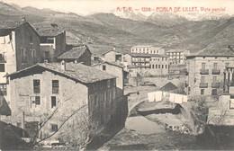 POSTAL    POBLA DE LILLET  -FRANCIA  - VIST PARCIAL - Perpignan