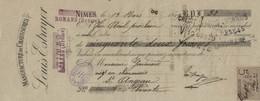 TRAITE MANUFACTURE DE CHAUSSURES  LOUIS ESTRAYER  ROMANS  DROME - 1800 – 1899