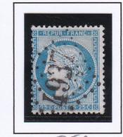 GC 4937 SAINT MAIGRIN ( Dept 16 Charente  Inférieure) S / N° 60 Indice Baudot S / L : 19 Soit 420€ - 1849-1876: Klassik