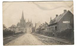 DADIZEELE Street View Photocard Feldpost 1918 SB 5. Esk. 2. Garde-Drag. Regt Stempel - Unclassified