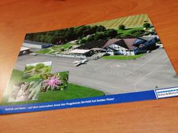 BIRRFELD FLUGHAFEN Airport Aérodrome Large Size 21cm X 15cm - Aerodromes