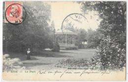 Ath : Le Parc, Envoyée à Constantinople, écriture Verte - Ath