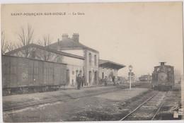 CP Dept  03 Saint Pourcain Sur Sioule La Gare - Other Municipalities