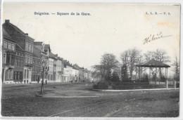 Soignies : Square De La Gare - Soignies