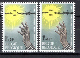 1330** V5 Bande D'ombre à Gauche - Neuf Sans Charnières - Cote 2,50 € - Abarten (Katalog Luppi)