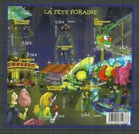 FRANCE MNH ** Feuille F 4378-4383 La Fête Foraine - Unused Stamps