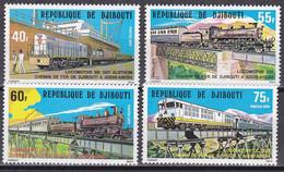 Dschibuti 1979 - Mi.Nr. 237 - 240 - Postfrisch MNH - Eisenbahnen Railways - Trains