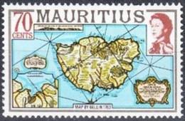 MAURICE -  Carte De L'île Maurice Par Bellin (1763) - Mauritius (1968-...)