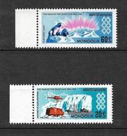 Mongolie Poste Aérienne  N°5 Et 7 Expéditions Artiques  Neufs  * *  B/TB = MNH F/ VF  Soldé  Le Moins Cher Du Site ! ! ! - Spedizioni Artiche