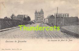 CPA WATERLOO ENVIRONS DE BRUXELLES LE CHAUSSEE DE MONT ST JEAN NELS SERIE 11 NO 459 - Waterloo