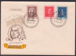 Georg Friedrich Händel, Albert Lortzing Carl Maria Von Weber DDR 308/10, Halle (Saale) Händelfestspiele SoSt. 5.7.52 - Cartas