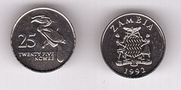 Zambia - 25 Ngwee 1992 UNC Lemberg-Zp - Zambia