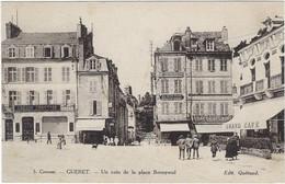 23   Gueret Un Coin De  La Place Bonnyaud - Guéret