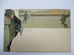 TOSCA   -    SIGNE  ILLISIBLE         TTB - Otros Ilustradores