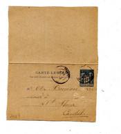 Carte Lettre 15 C Sage Cachet ? Cantal - Kaartbrieven